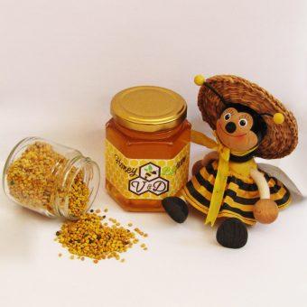Мед с пчелен прашец