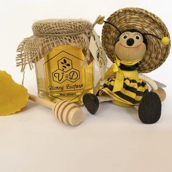 Пчелен мед - акация от Пчеларска биоферма V&D